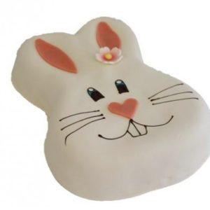 Kake formet som en kanin